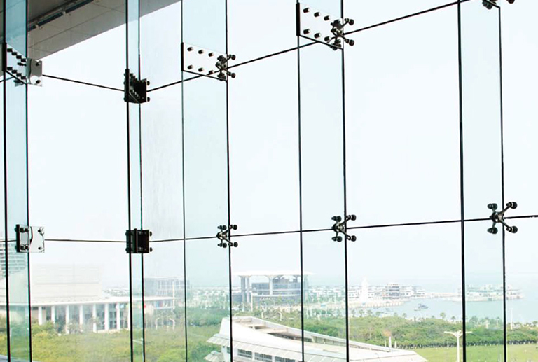 Curtain wall structural glazing service in Punjab